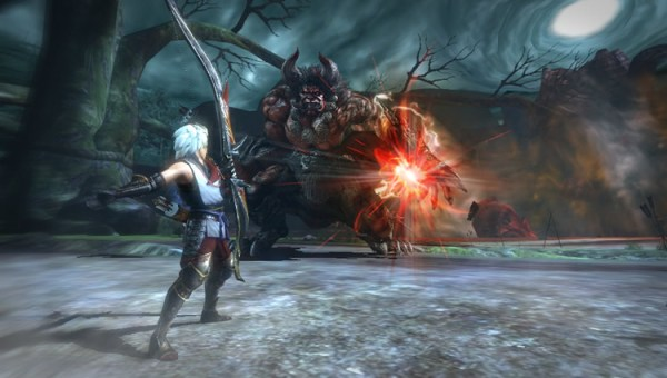 Toukiden intro battle