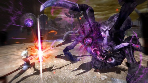 Toukiden manhunter battle