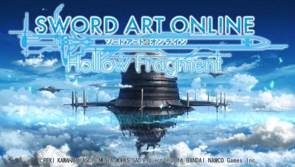 Sword Art Online Title Screen