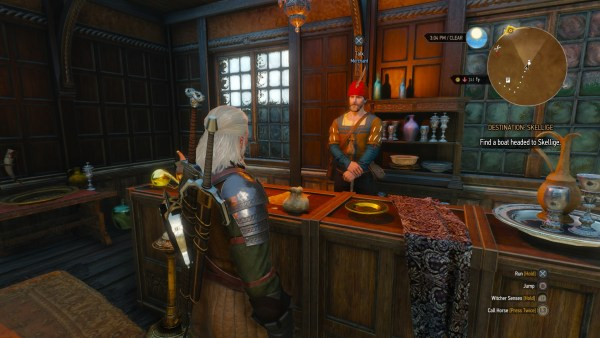 Fancy Shop Owner in Northern Novigrad