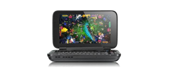GPD Win 10 PC sitting