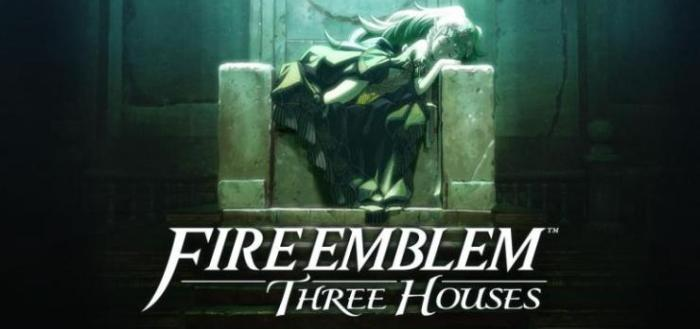 fire emblem three houses title screen