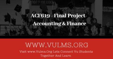 ACF619 - Final Project- Accounting & Finance