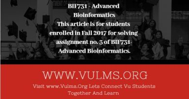 BIF731 - Advanced Bioinformatics