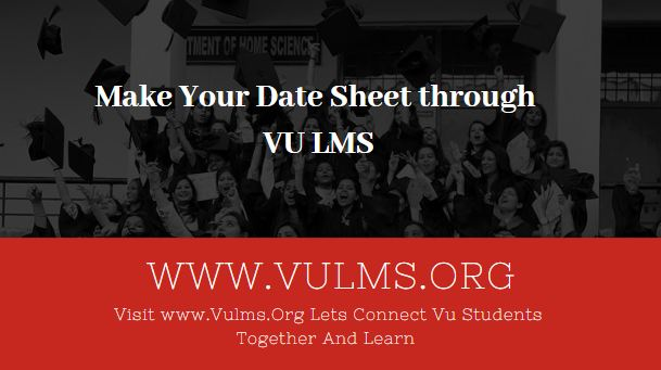 VULMS date sheet
