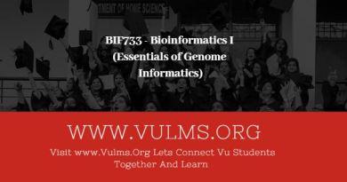BIF733 - Bioinformatics I (Essentials of Genome Informatics)