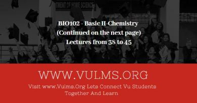 BIO102 - Basic II-Chemistry