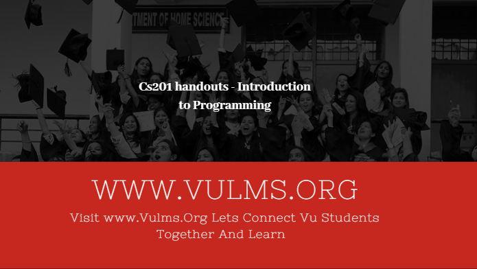 cs201 handouts