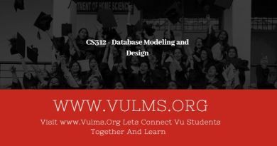 CS312 - Database Modeling and Design