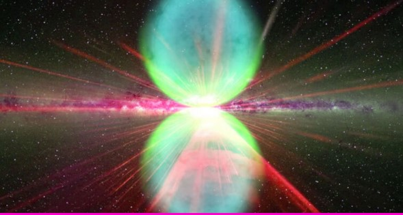 """Astronomers Detect """"Bullets"""" of Gas Shooting Out of Our Galactic Center"""