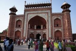 Gate to the Taj Mahal