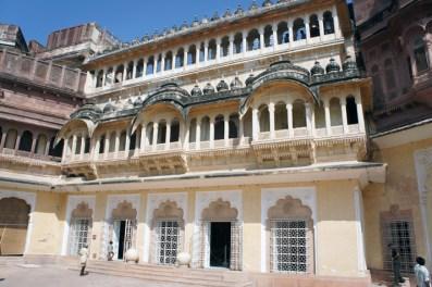 Jodhpur Fort Courtyard