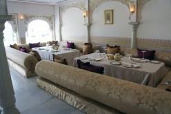 Restaurant with Versace tableware