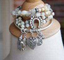 A selection of bracelets