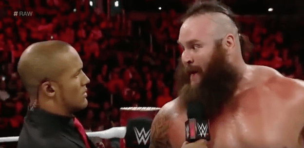Braun Strowman vs Byron Saxton confirmed for next weeks Raw