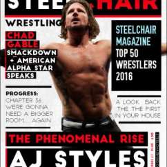 Steel Chair In Wrestling Mount Keyboard Tray Steelchair Magazine 10 Out Now Vulturehound 2016 Top 50 Wrestlers Is Pdf Download Http Tinyurl Com Sc10download Online Scmag10