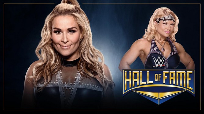 Beth Phoenix Natalya Hall of Fame