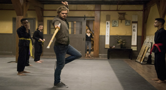 Danny Rand Training