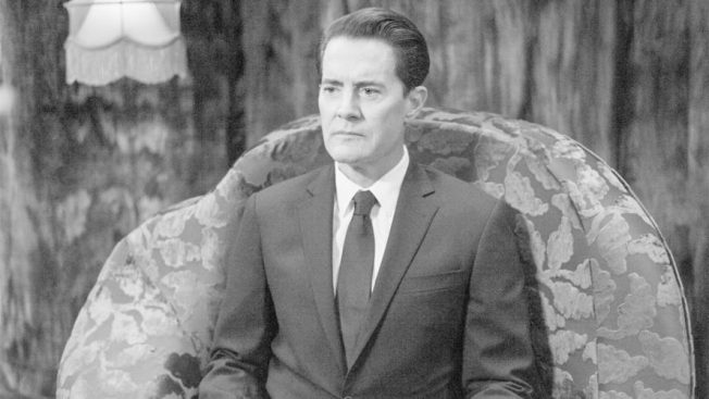 Dale Cooper in the Black Lodge