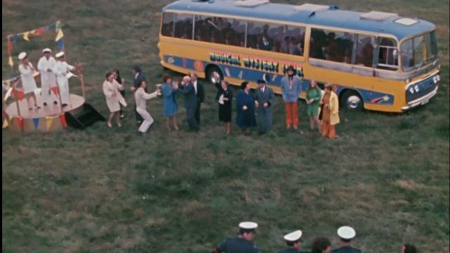 Magical Mystery Tour Bus Exterior