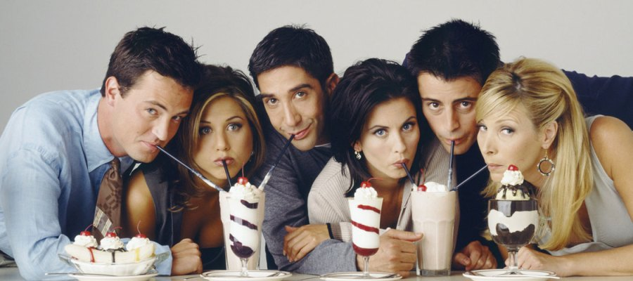 Friends Group Milkshake