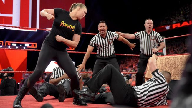 Ronda Rousey attacks officials