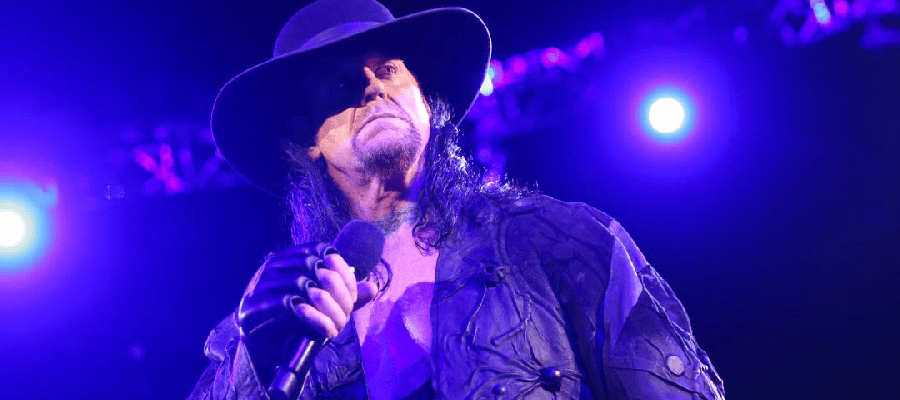 The Undertaker speaks