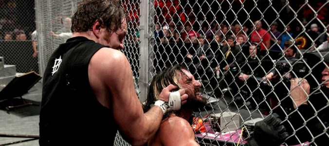 Hell in a Cell Dean Ambrose vs. Seth Rollins