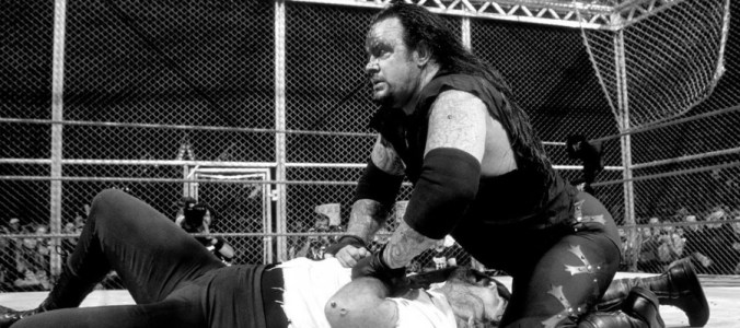 Hell in a Cell Undertaker vs. Mankind