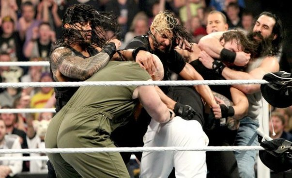 Shield vs Wyatt Family