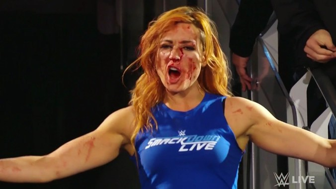 Becky Lynch WWE SmackDown invades Raw