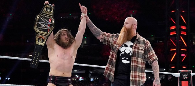 Royal Rumble 2019 Daniel Bryan Erick Rowan