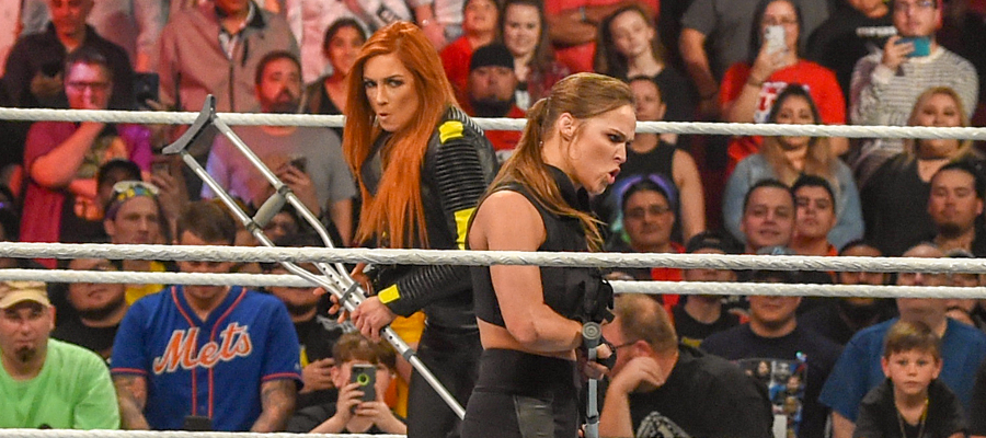 Elimination Chamber Becky Lynch Ronda Rousey