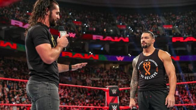 Seth Rollins and Roman Reigns talk