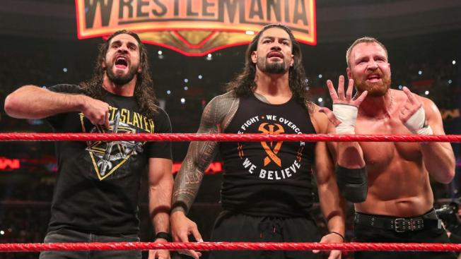 The Shield united
