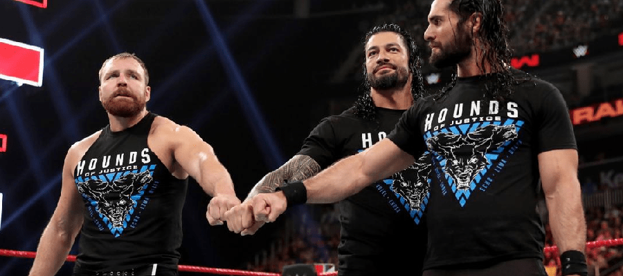 The Shield final fist bump