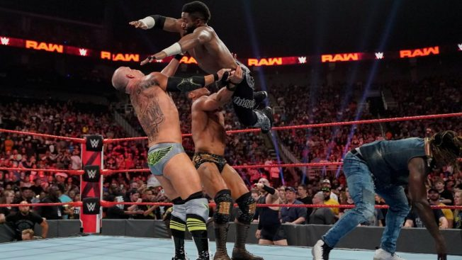 R-Truth's challengers fight amongst themselves