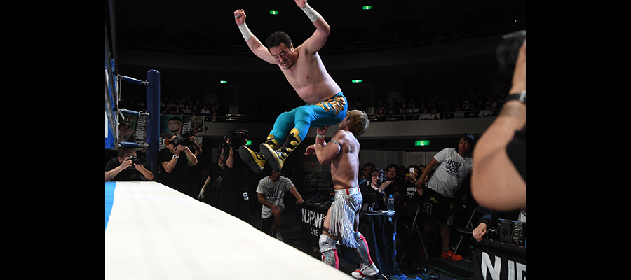 Hip attack from Taguchi