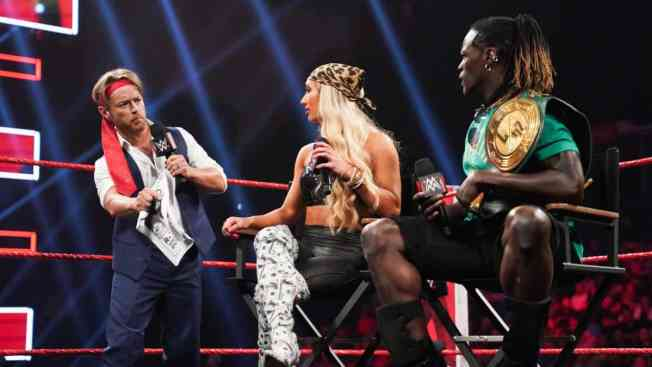 Drake Maverick challenges R-Truth and Carmella