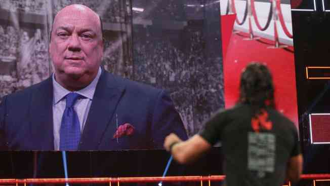 Seth Rollins and Paul Heyman