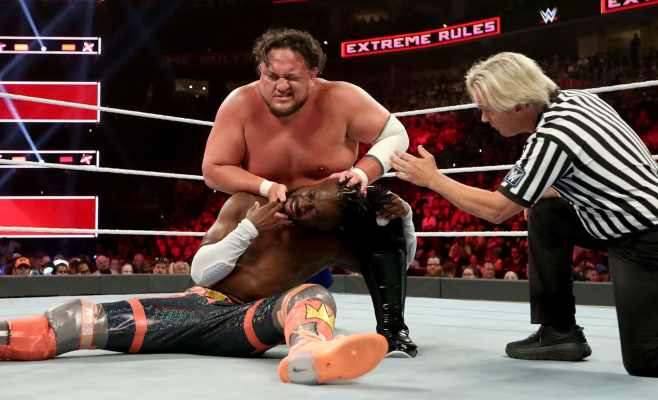 Extreme Rules 2019: Samoa Joe vs. Kofi Kingston