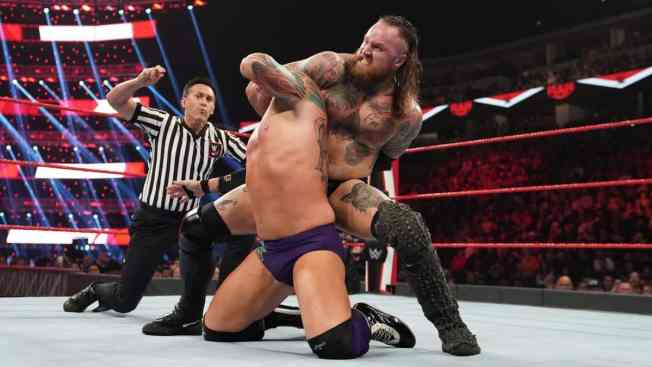 Aleister Black submits Eric Young