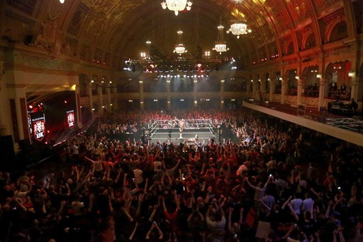 NXT UK Takeover image