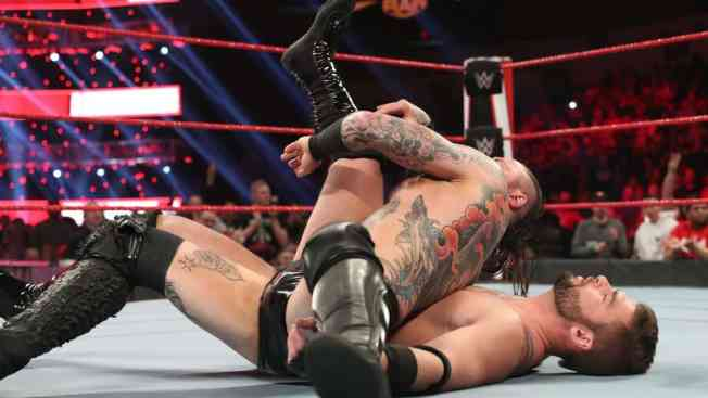 ALeister Black pins unnamed local competitor