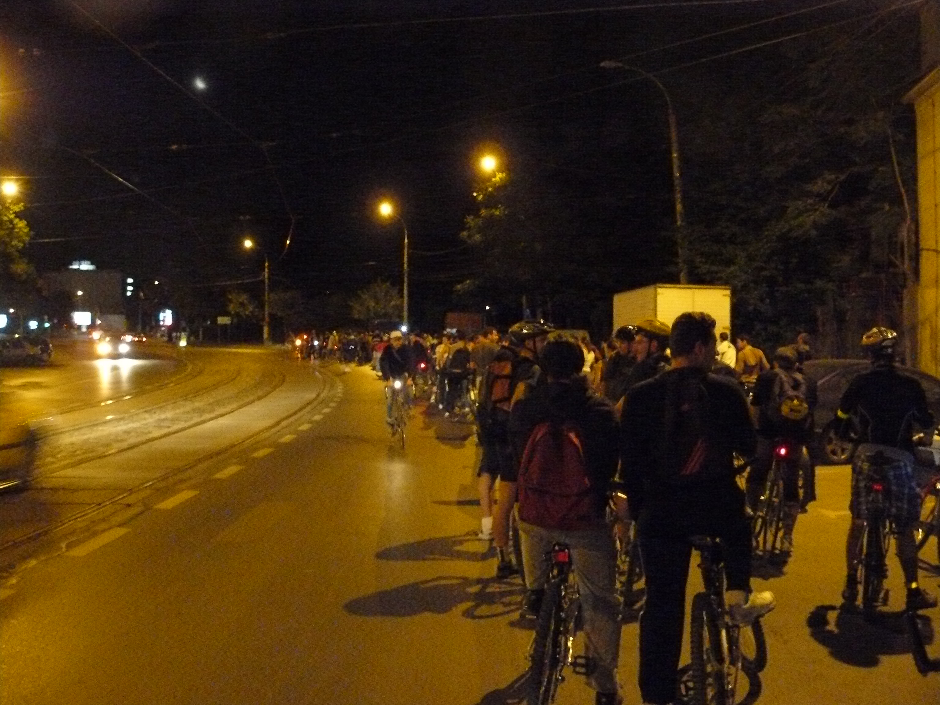Ciclopromenada nocturna 3