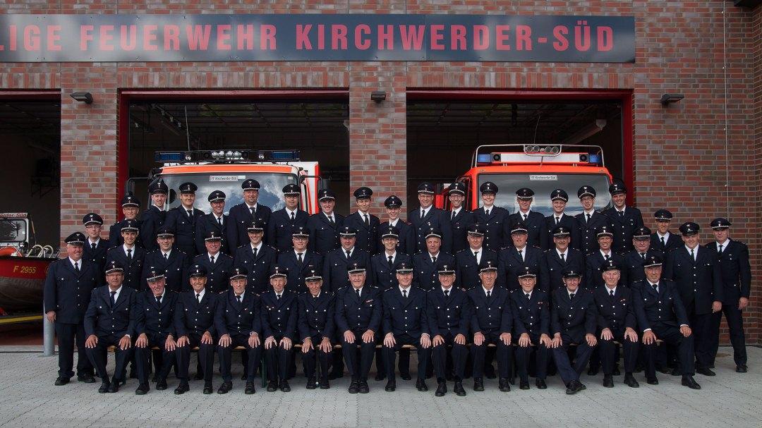 FF Kirchwerder Süd: Einsatz und Ehrenabteilung 2015