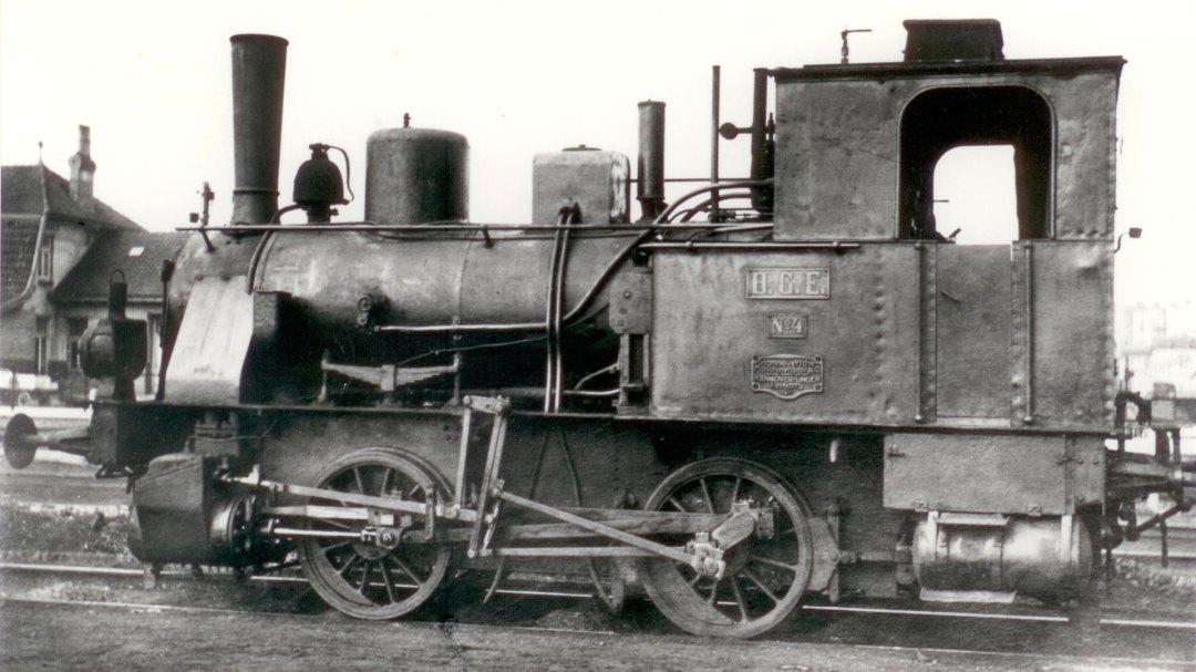 BGE Lok Nr. 4 von Hanomag
