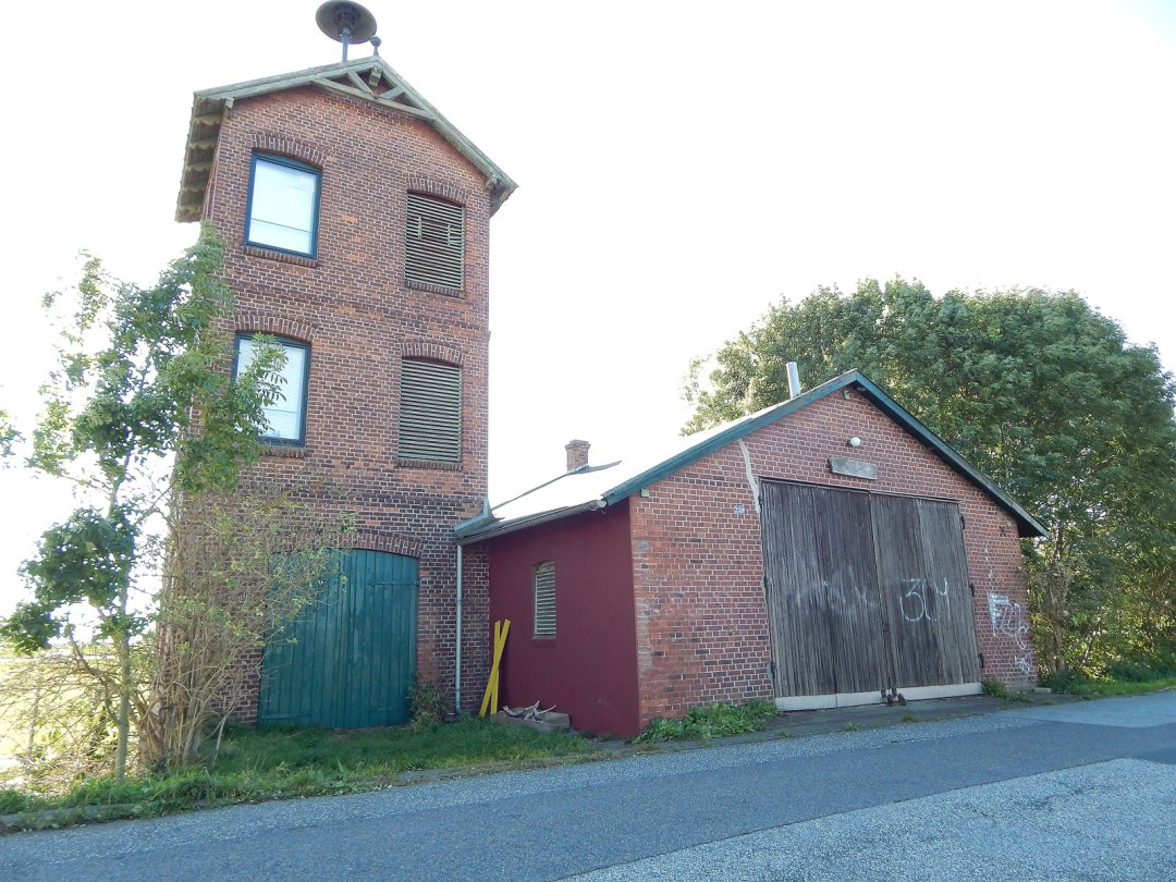 FF Kirchwerder Süd: Erstes Spritzenhaus
