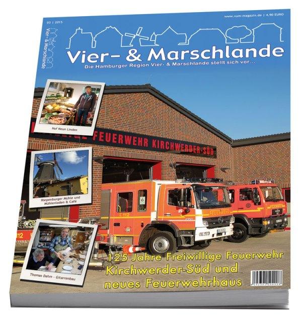 Vier- & Marschlande Regionalmagazin Nr. 8 (3/2015)