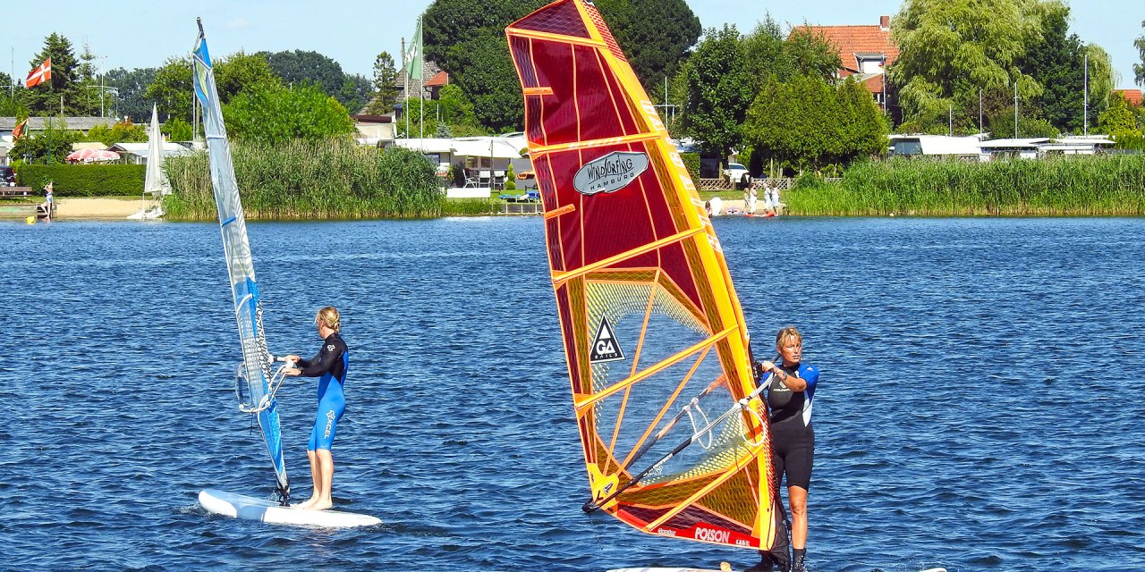 Windsurfing Hamburg – Surfschule, Shop & Café